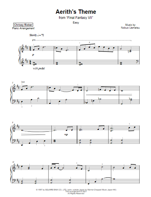 Aerith's Theme Sample Page