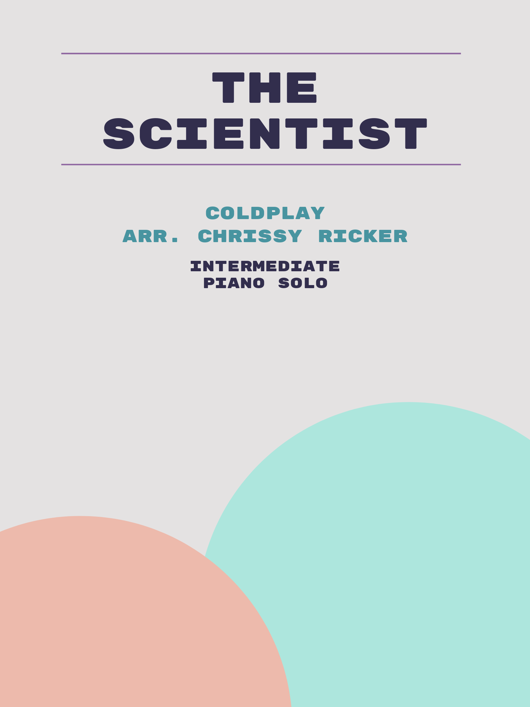 The Scientist by Coldplay
