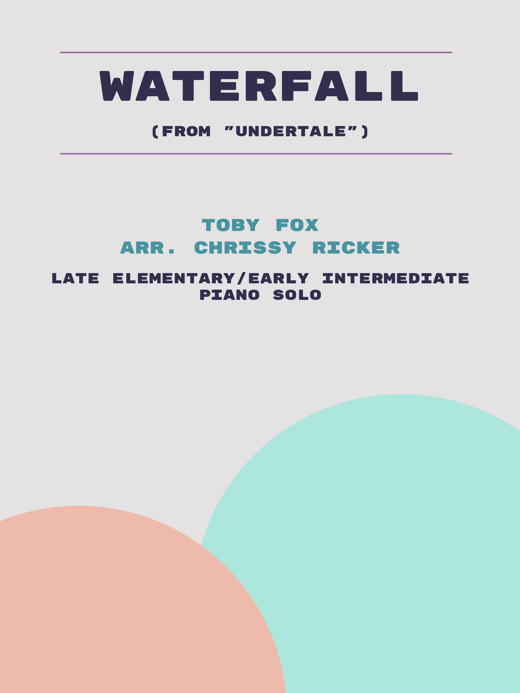 Waterfall by Toby Fox