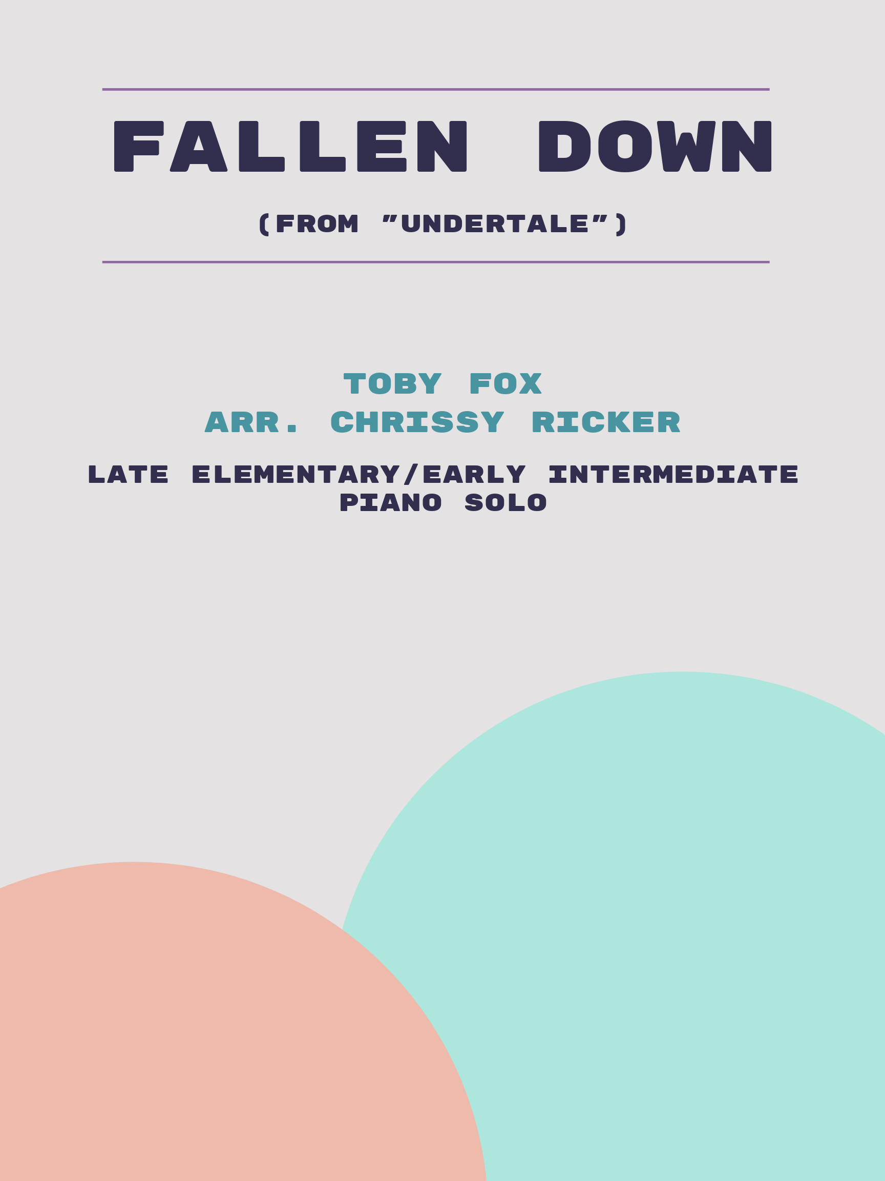 Fallen Down by Toby Fox