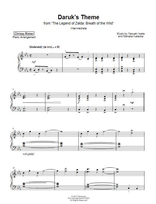 Daruk's Theme Sample Page