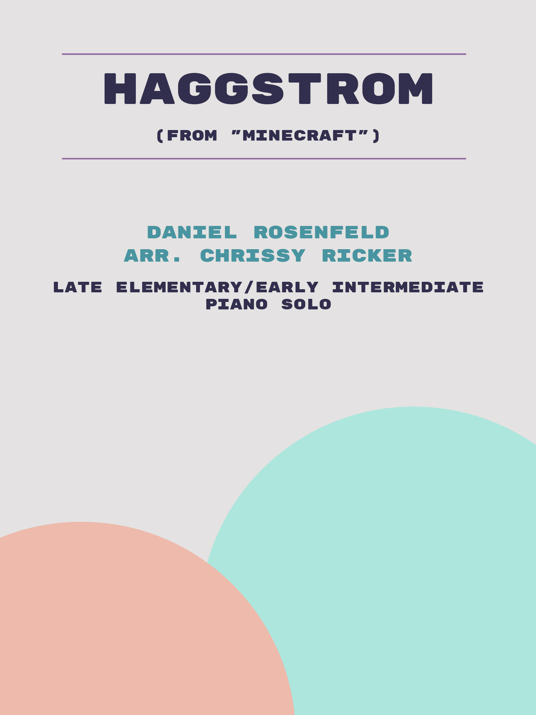 Haggstrom by Daniel Rosenfeld
