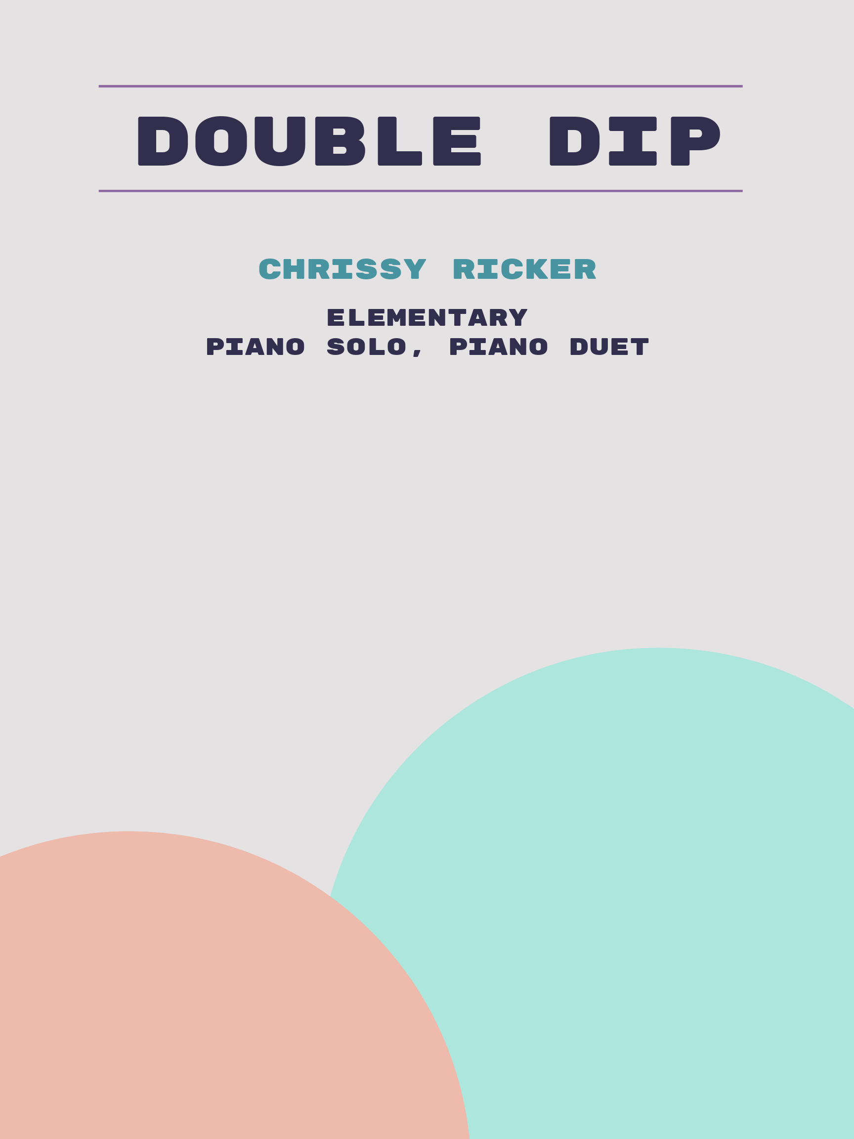 Double Dip by Chrissy Ricker