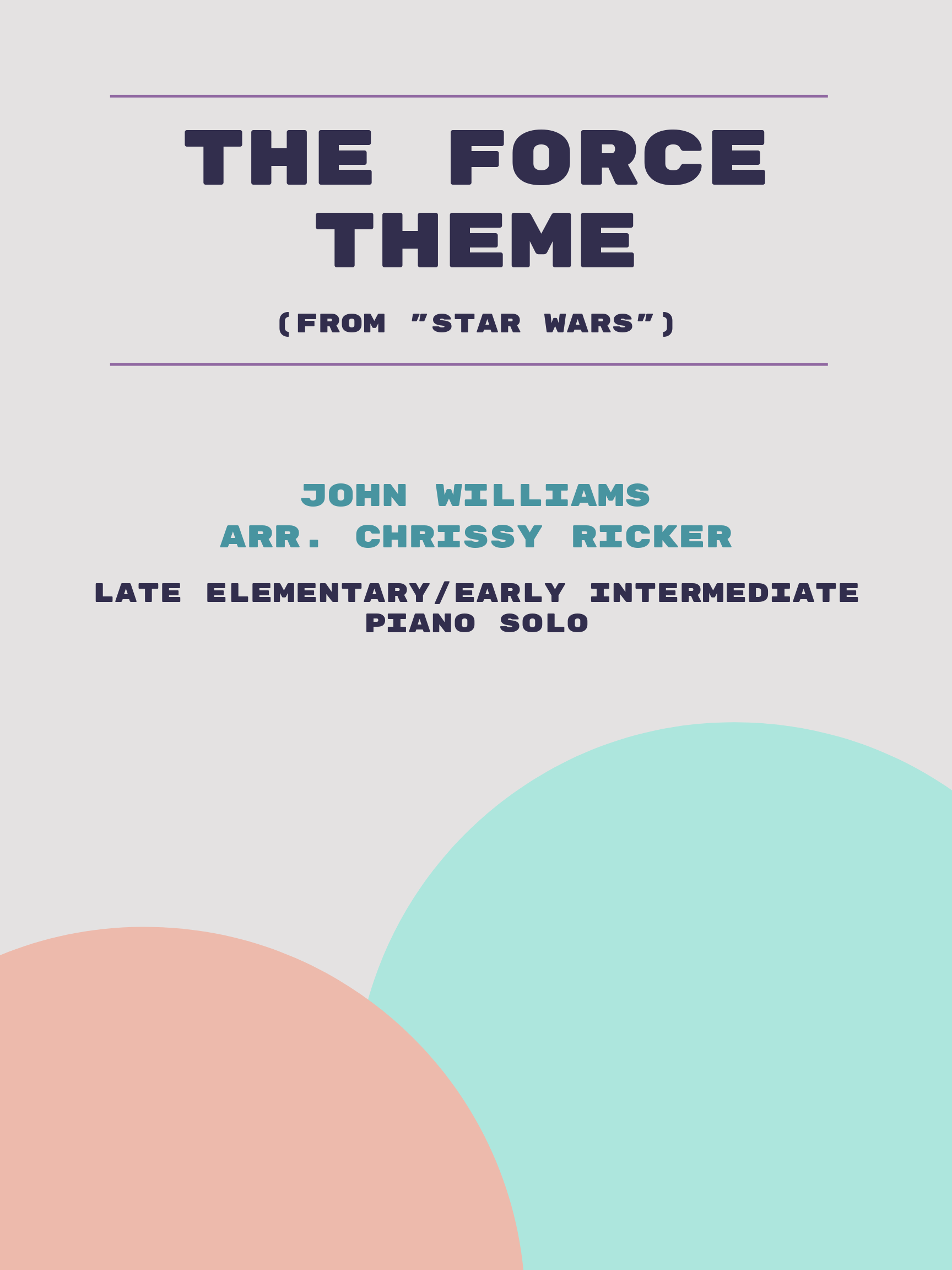 The Force Theme by John Williams