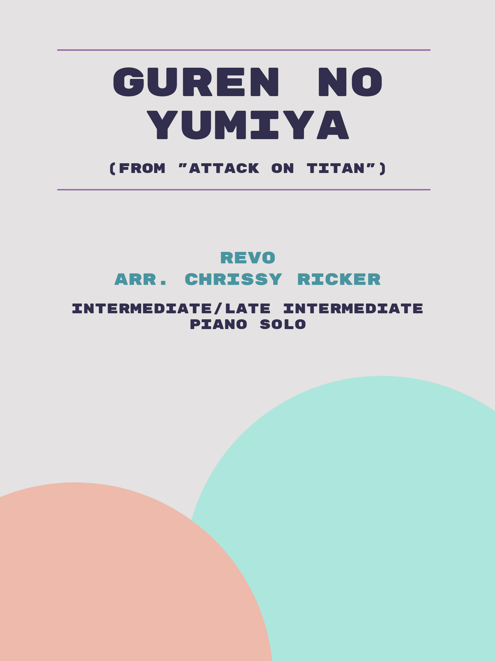 Guren no Yumiya by Revo