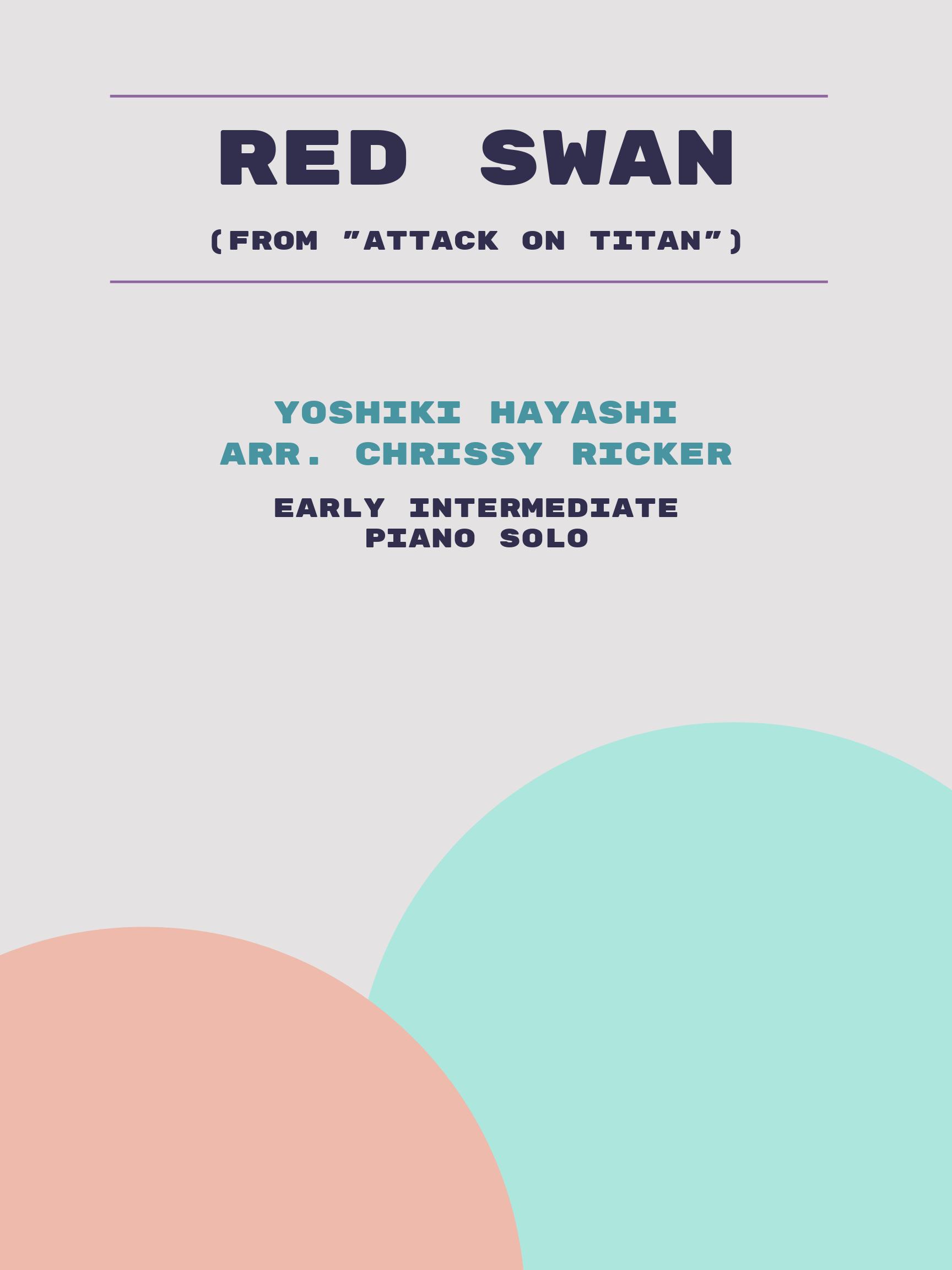 Red Swan by Yoshiki Hayashi