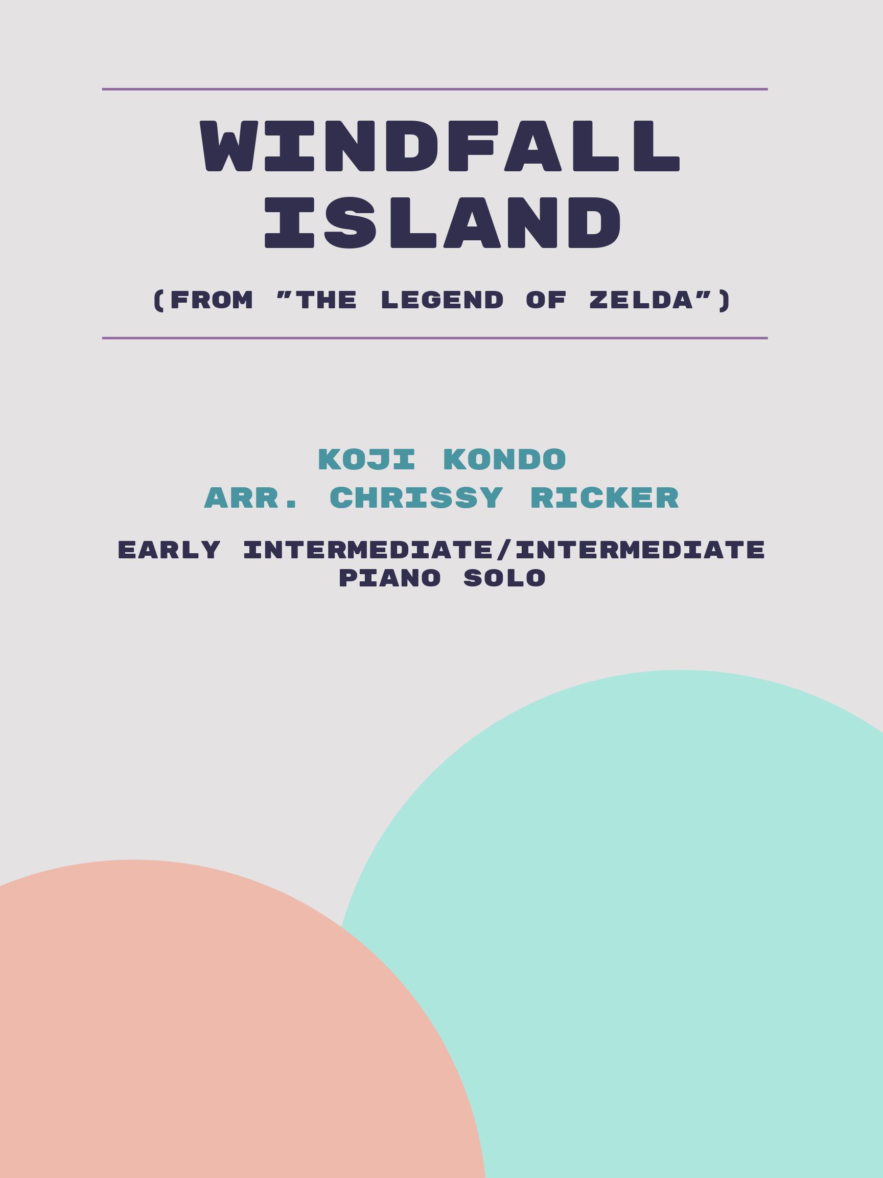 Windfall Island by Koji Kondo