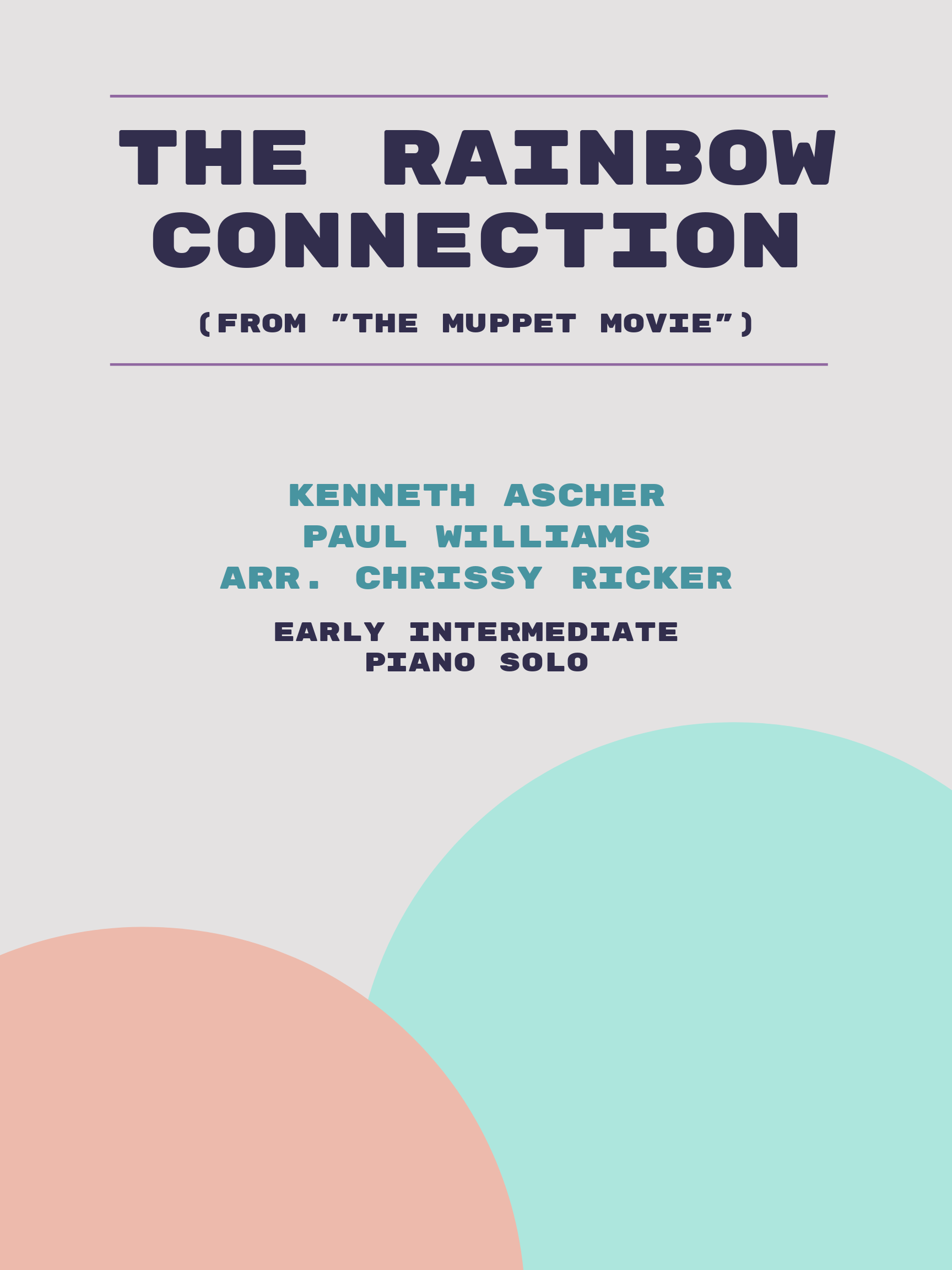 The Rainbow Connection by Kenneth Ascher, Paul Williams