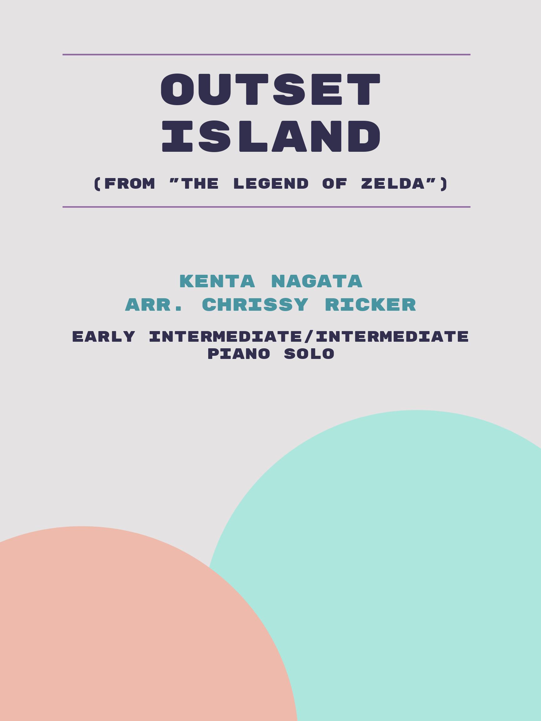 Outset Island by Kenta Nagata