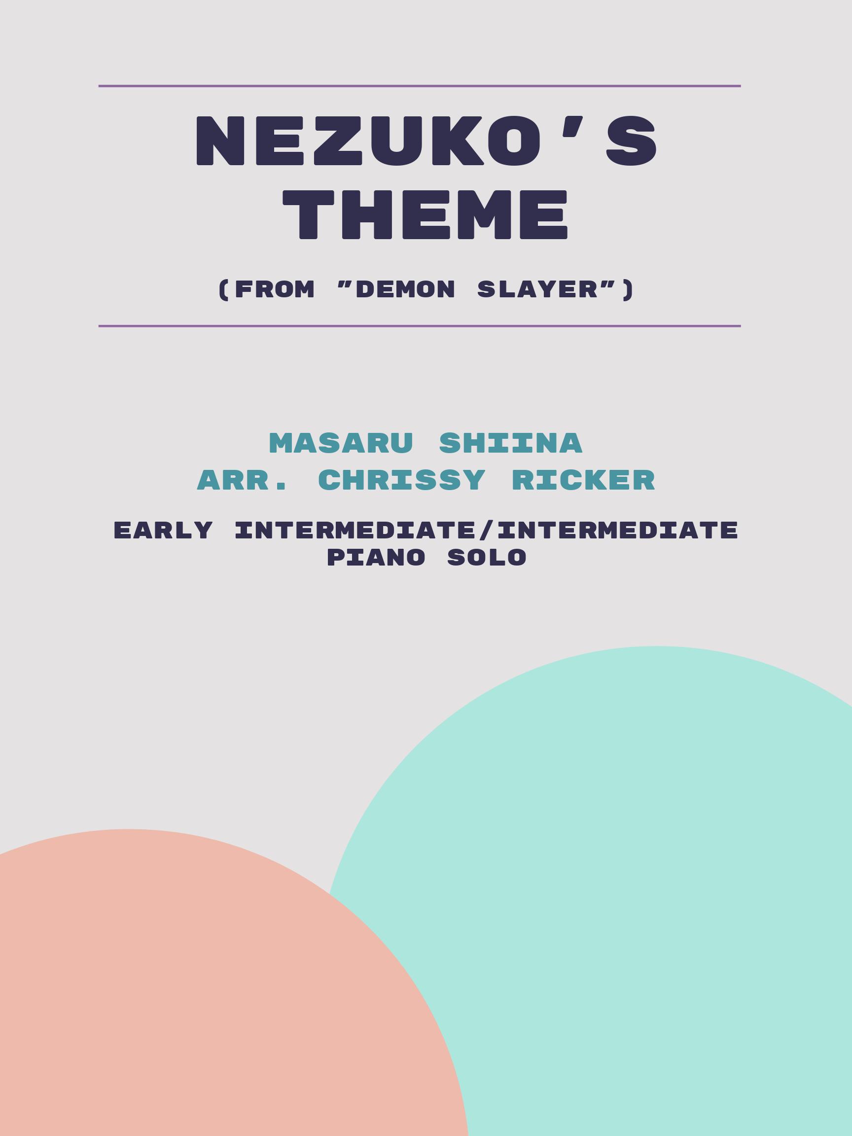 Nezuko's Theme by Masaru Shiina