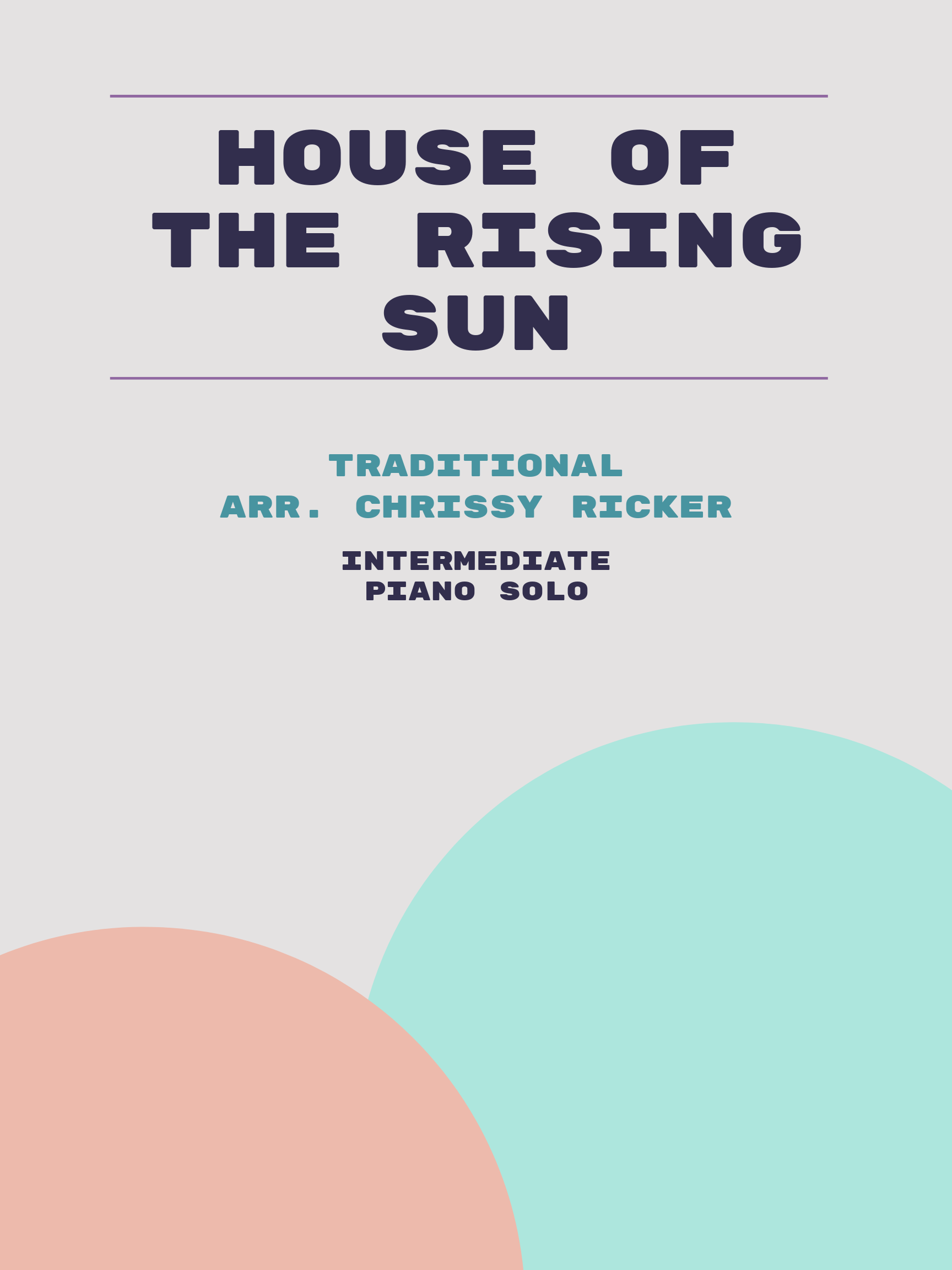 House of the Rising Sun by Traditional