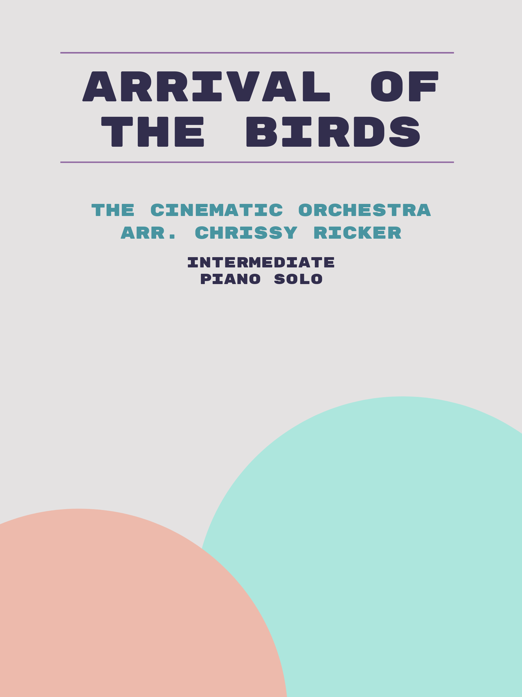 Arrival of the Birds by The Cinematic Orchestra