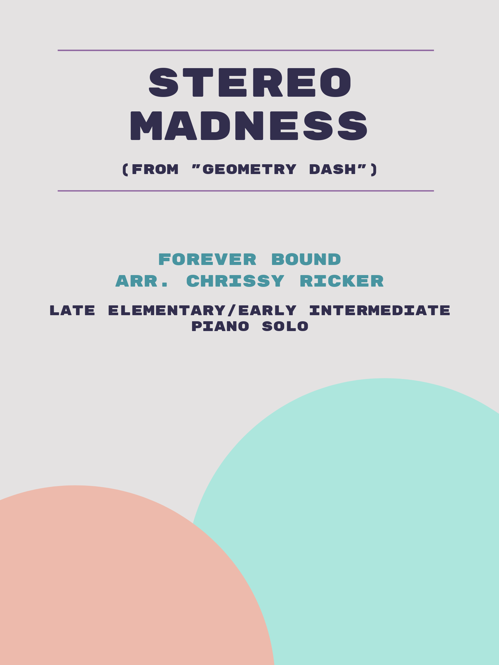 Stereo Madness by Forever Bound